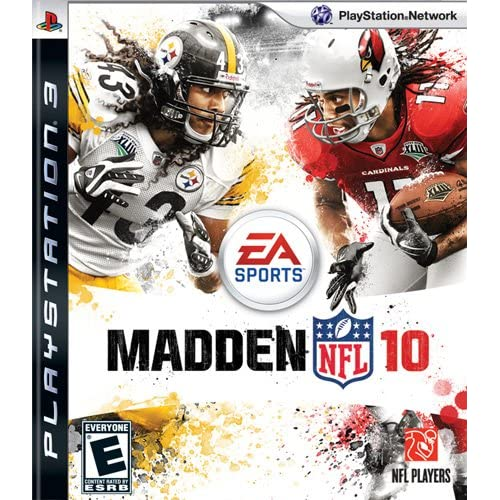 Madden NFL 10 For PlayStation 3 PS3 Football