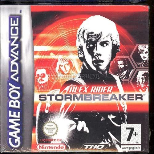 Alex Rider Stormbreaker: Game Boy Advance For GBA Gameboy Advance