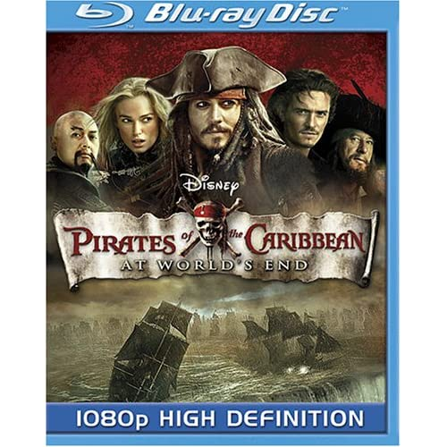 Image 0 of Pirates Of The Caribbean: At World's End Blu-Ray On Blu-Ray With Johnny Depp Dis