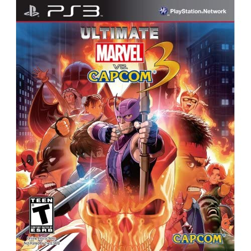 Image 0 of Ultimate Marvel Vs Capcom 3 For PlayStation 3 PS3 Fighting