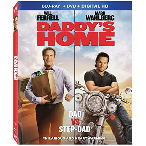 Daddy's Home Blu-Ray On Blu-Ray With Will Ferrell Comedy