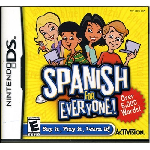 Image 0 of Spanish For Everyone For Nintendo DS DSi 3DS 2DS Strategy