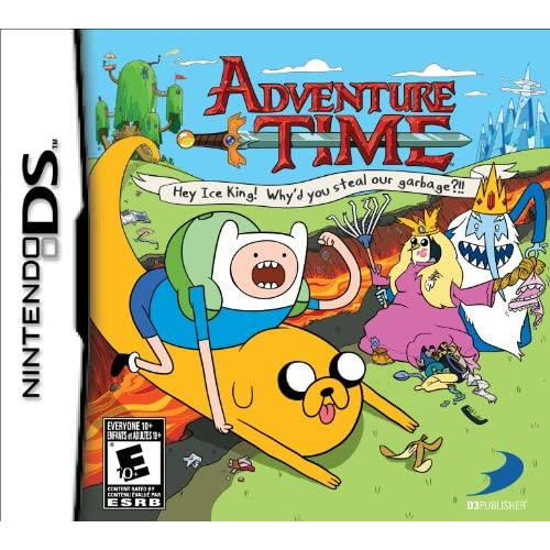 Adventure Time: Hey Ice King! Why'd You Steal Our Garbage For Nintendo DS DSi 3D