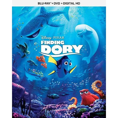 Finding Dory Blu-Ray On Blu-Ray With Ellen Degeneres Disney