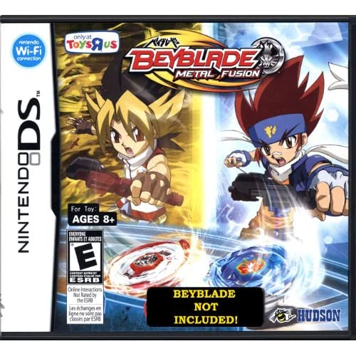 Image 0 of Beyblades Video Game Beyblade Metal Fusion Tru Version Beyblade Not Included! Fo