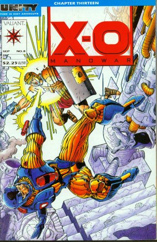 XO Manowar #8 Comic Book