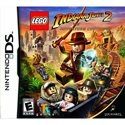 Image 0 of Lego Indiana Jones 2: The Adventure Continues For Nintendo DS DSi 3DS 2DS
