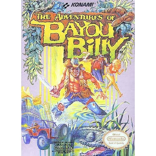 Image 0 of The Adventures Of Bayou Billy For Nintendo NES Vintage