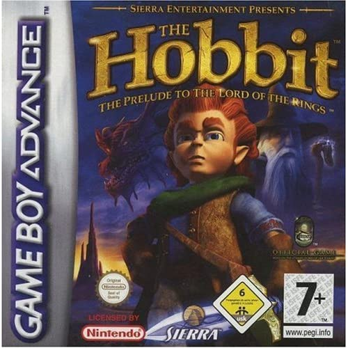 Image 0 of The Hobbit GBA By Sierra UK For GBA Gameboy Advance