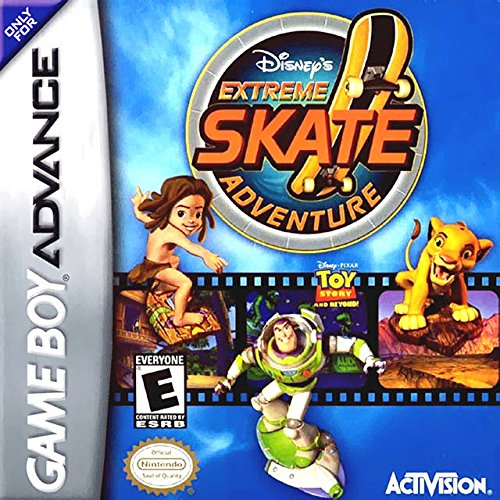 Image 0 of Disney's Extreme Skate Adventure For GBA Gameboy Advance Racing