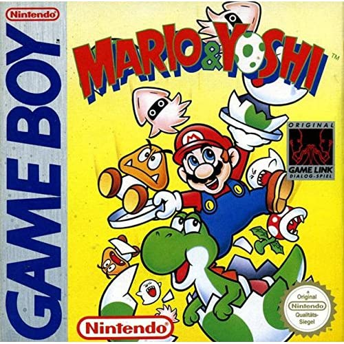 Mario And Yoshi On Gameboy