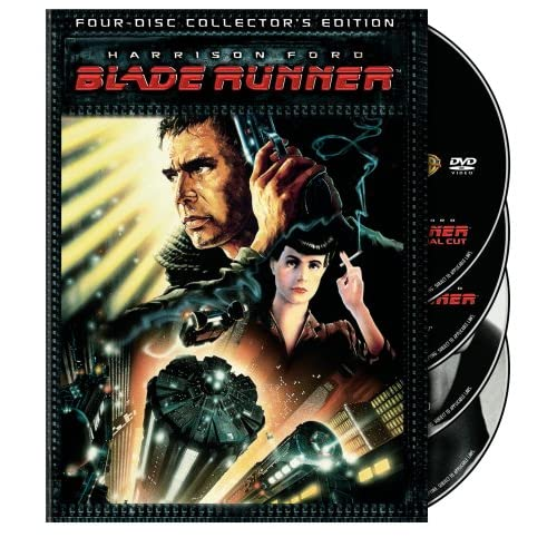 Image 0 of Blade Runner Four-Disc Edition On DVD With Harrison Ford 4