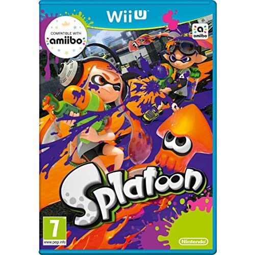 Splatoon By Nintendo With Manual And Case