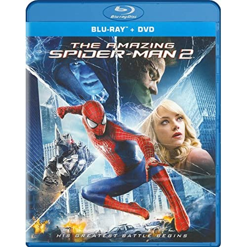 Image 0 of The Amazing Spider-Man 2 Blu-Ray/dvd On Blu-Ray With Andrew Garfield