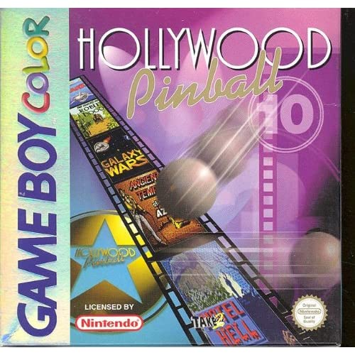 Hollywood Pinball Game Boy Color PAL For 3DS