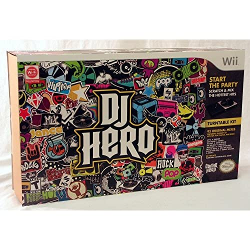 Image 0 of DJ Hero: Bundle With Turntable For Wii