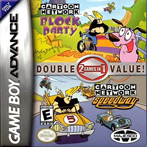Cartoon Network 2 In 1 Block Party And Speedway GBA For GBA Gameboy Advance Raci
