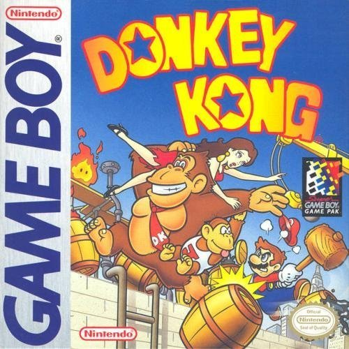 Donkey Kong On Gameboy Arcade With Manual and Case
