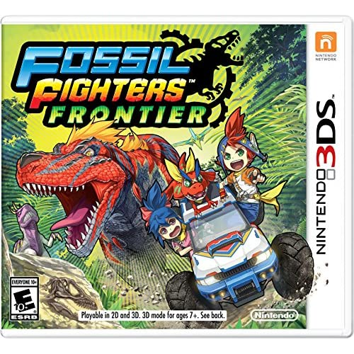 Fossil Fighters Frontier For 3DS With Manual and Case