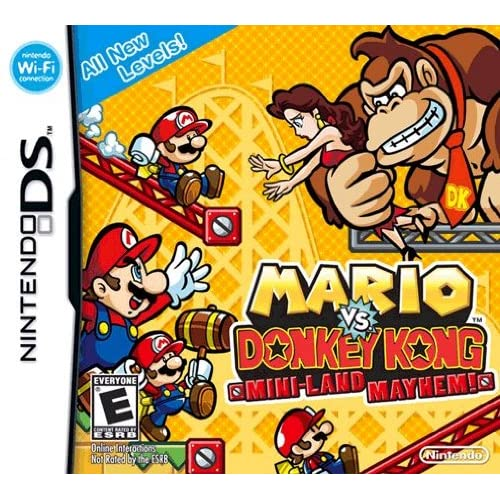 Image 0 of Mario Vs Donkey Kong Mini-Land Mayhem! For Nintendo DS DSi 3DS 2DS Puzzle Games