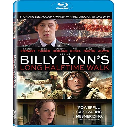 Image 0 of Billy Lynn's Long Halftime Walk Blu-Ray On Blu-Ray With Joe Alwyn