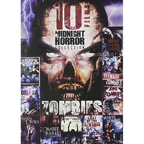 10-FILM Midnight Horror Collection: Zombies On DVD