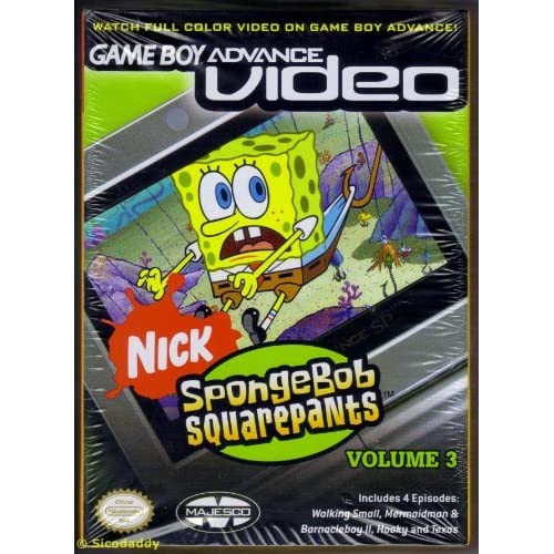 Image 0 of Spongebob Squarepants Volume 3 For GBA Gameboy Advance Action