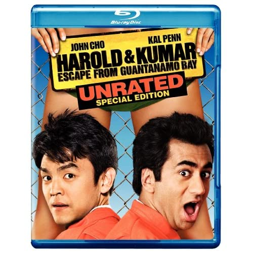 Image 0 of Harold And Kumar Escape From Guantanamo Bay Unrated Special Edition Blu-Ray On B