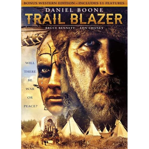 Image 0 of Daniel Boone: Trailblazer Includes Bonus Features On DVD With Bruce Bennett West