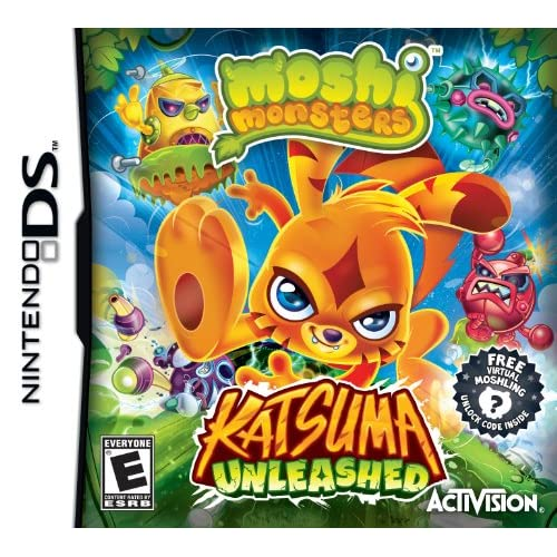 Image 0 of Moshi Monsters: Katsuma Unleashed For Nintendo DS DSi 3DS 2DS