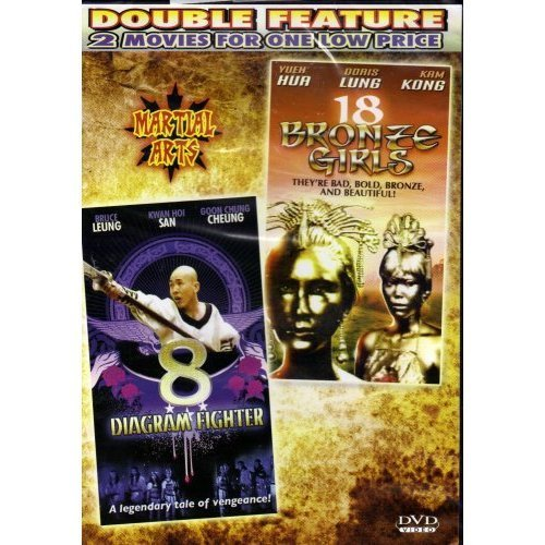 Image 0 of 8 Diagram Fighter / 18 Bronze Girls Slim Case On DVD With Bruce Leung