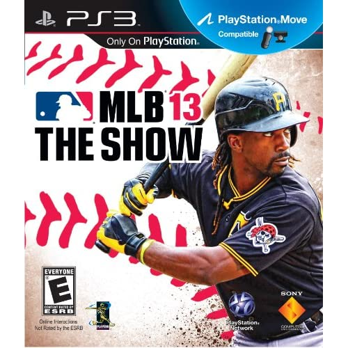 MLB 13 The Show For PlayStation 3 PS3 Baseball