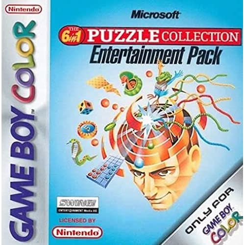 Microsoft Puzzle Collection Entertainment Pack On Gameboy Color
