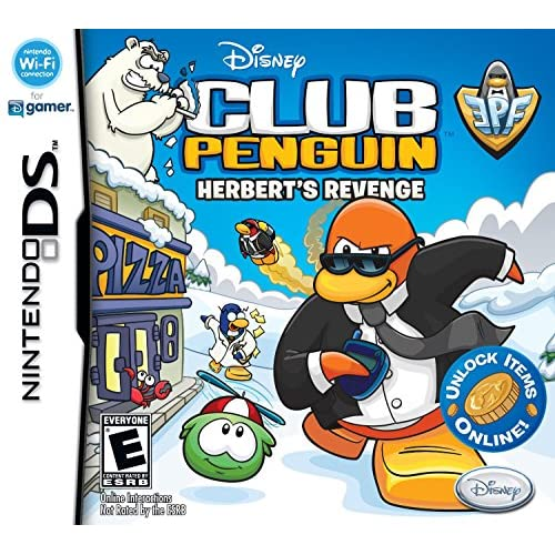 Image 0 of Club Penguin: Elite Penguin Force: Herbert's Revenge For Nintendo DS DSi 3DS 2DS