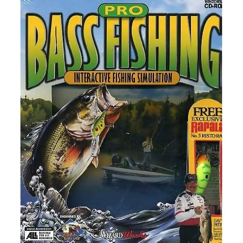 Pro bass fishing interactive fishing simulation software for Bass pro shop fishing games