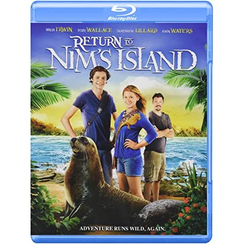 Image 0 of Return To Nim's Island Blu-Ray On Blu-Ray Children