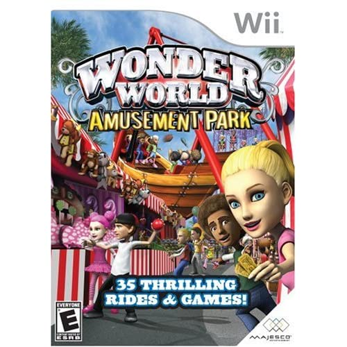 Image 0 of Wonder World Amusement Park For Wii And Wii U