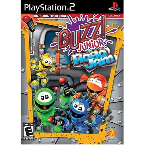 Image 0 of Buzz Jr: Robo Jam Stand Alone For PlayStation 2 PS2 Puzzle
