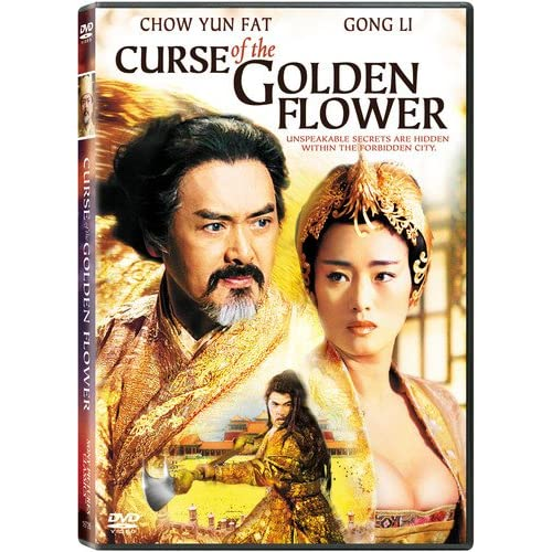 Image 0 of Curse Of The Golden Flower On DVD With Chow Yun-Fat Drama