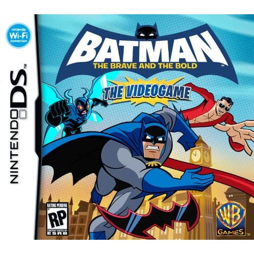 Batman Brave And The Bold For Nintendo DS DSi 3DS 2DS