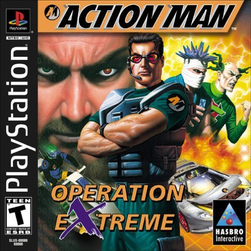 Action Man Operation Extreme For PlayStation 1 PS1