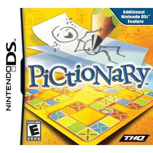 Pictionary For Nintendo DS DSi 3DS 2DS