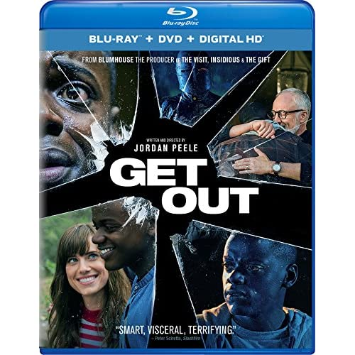 Image 0 of Get Out Blu-Ray On Blu-Ray With Daniel Kaluuya Horror