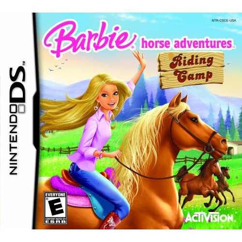 Image 0 of Barbie Horse Adventures: Riding Camp For Nintendo DS DSi 3DS RPG