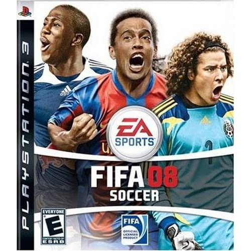 FIFA 08 For PlayStation 3 PS3 Soccer