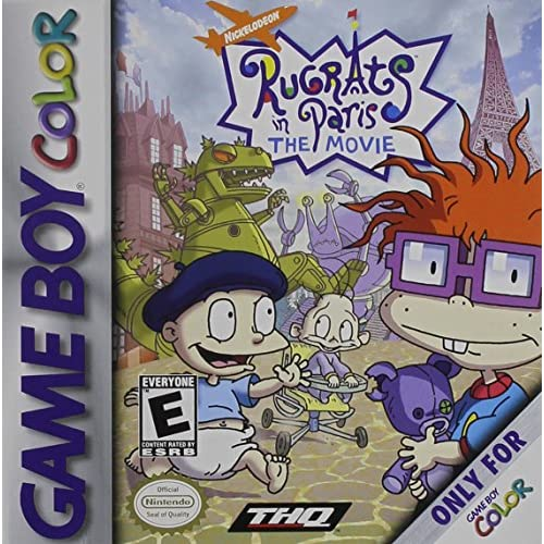 Image 0 of Rugrats In Paris: The Movie On Gameboy Color