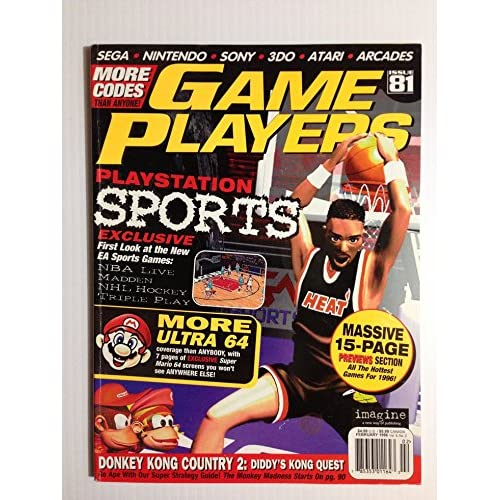 Game Players Magazine Issue 81 February 1996 Feb 1996 PlayStation