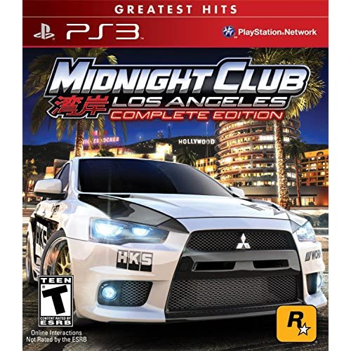 Midnight Club: Los Angeles Greatest Hits Complete Edition For PlayStation 3 PS3