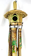 Bamboo Wood Tropical Wind Chime