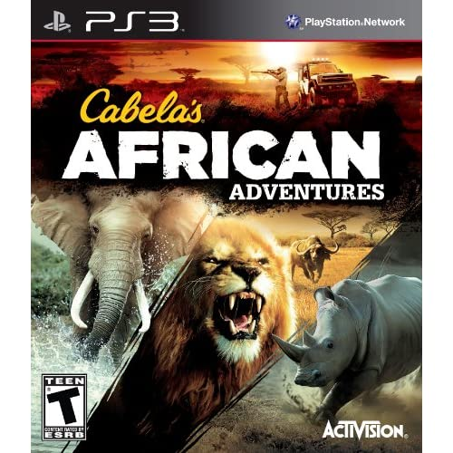 Image 0 of Cabela's African Adventures For PlayStation 3 PS3 Shooter